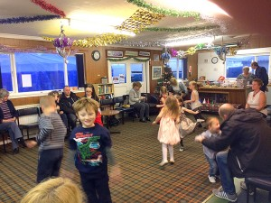 Christmas Party in the Clubhouse is always great fun!